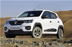 Renault Kwid to get a reverse camera and more features