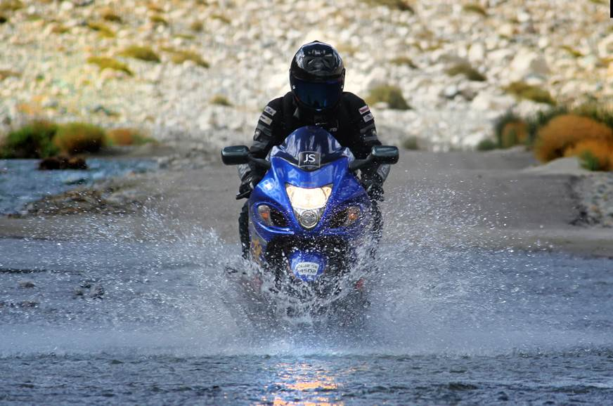 Suzuki Hayabusa completes Delhi-Srinagar-Leh-Manali-Delhi circuit
