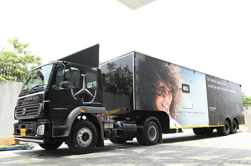 Mercedes-Benz India launches mobile service initiative