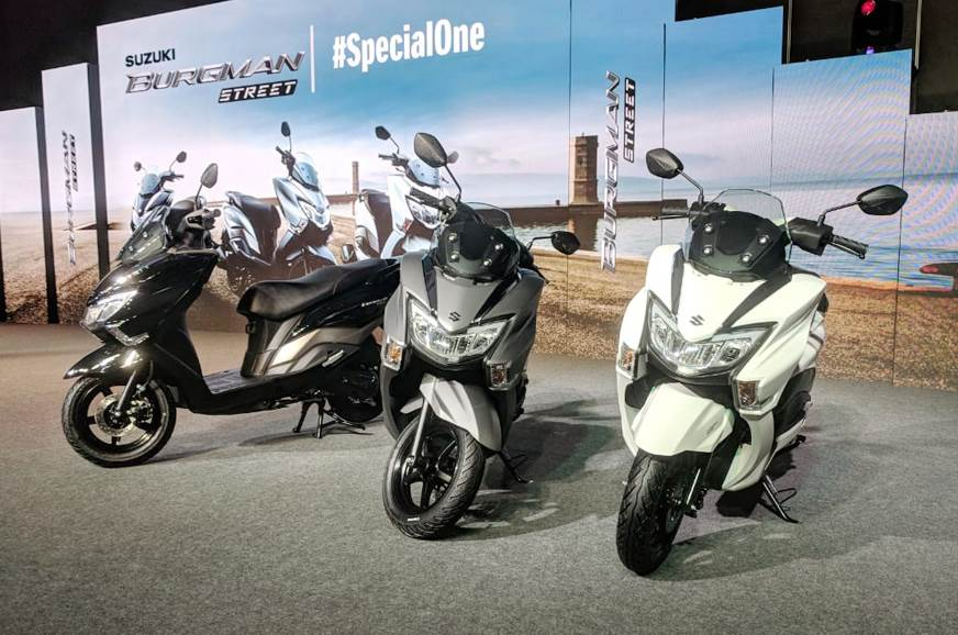 2018 Suzuki Burgman Street launched at Rs 68,000