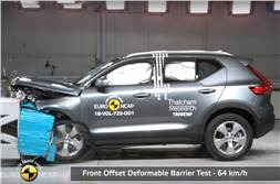 Volvo XC40 gets five-star rating in Euro NCAP