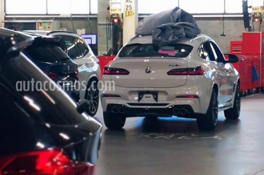 New BMW X4 M spied undisguised