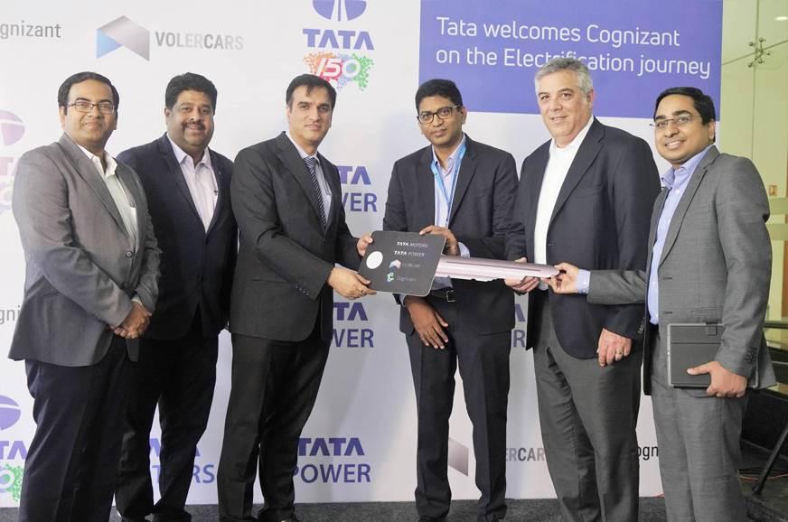 Tata to supply Tigor EVs to Cognizant