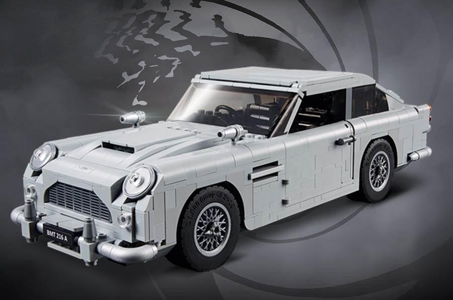 1964 Aston Martin DB5: Lego model of Bond car released