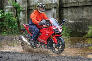 2018 TVS Apache RR 310 long term review, second report