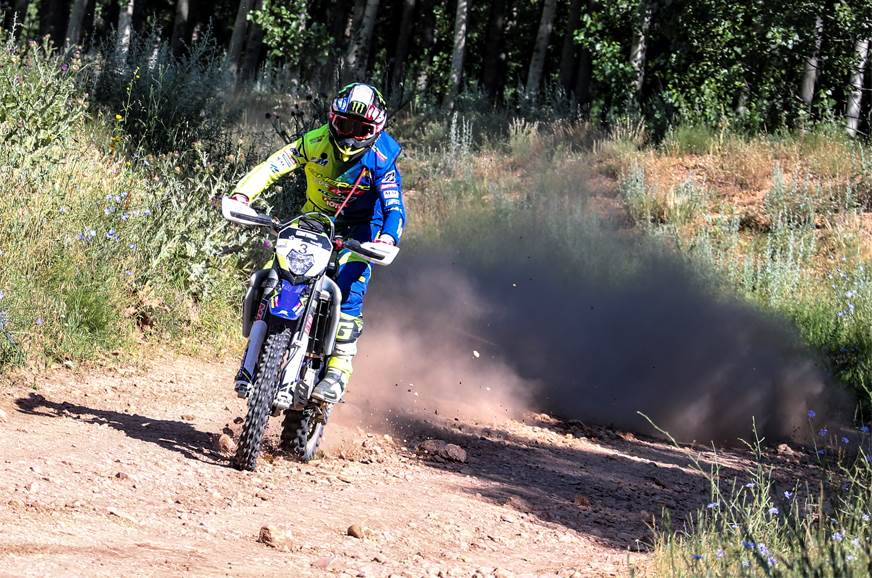 Sherco TVS Factory Rally Team wins Baja Aragon 2018