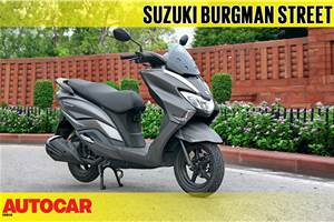 2018 Suzuki Burgman Street video review
