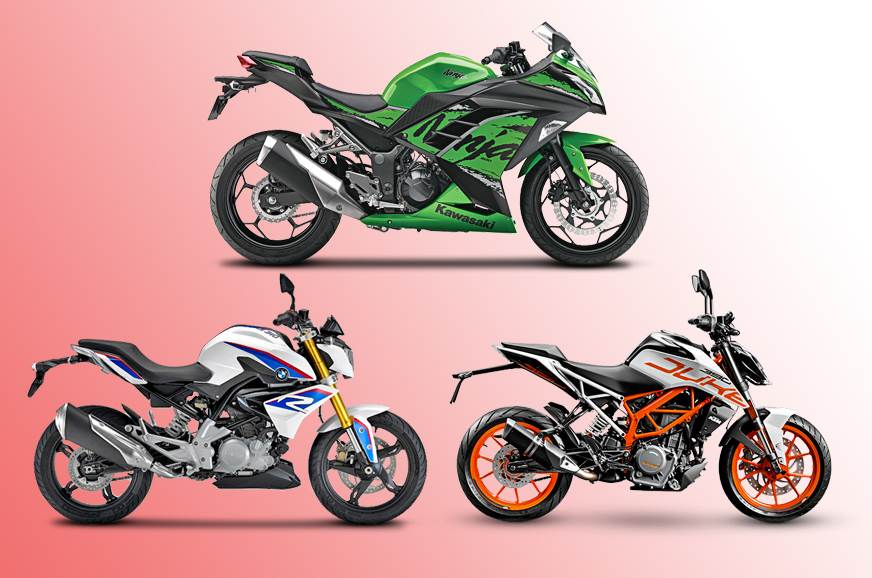 2018 Kawasaki Ninja 300 vs rivals: Specifications comparison