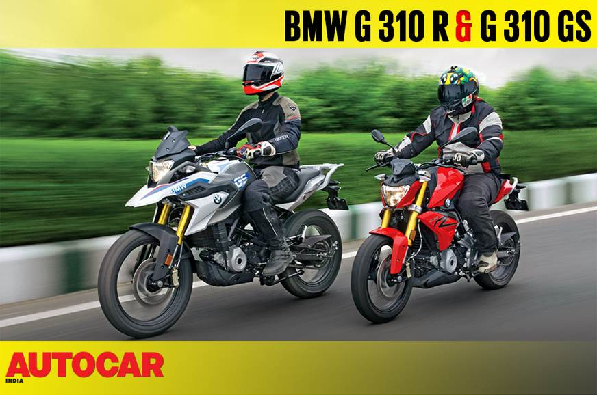 2018 BMW G 310 R, G 310 GS video review