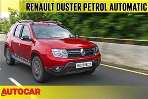 2018 Renault Duster petrol-CVT video review