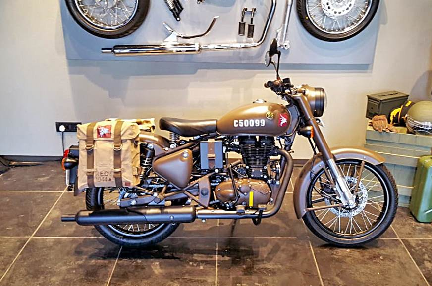 Royal Enfield Classic 500 Pegasus sold out in 178 seconds