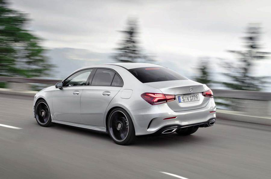 All New Mercedes Benz A Class Sedan Revealed Autocar India