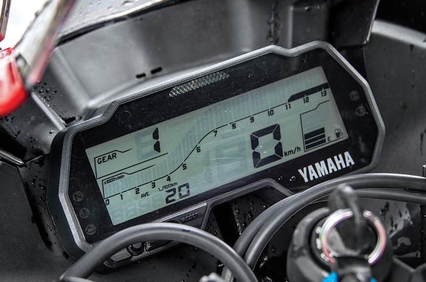 Fully digital meter on the R15.