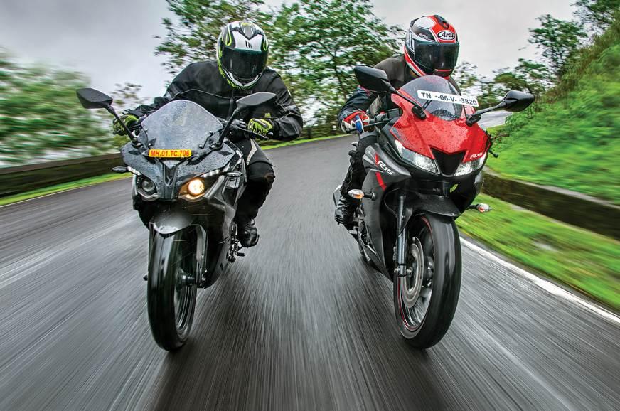 2018 Yamaha YZF-R15 V3.0 vs Bajaj Pulsar RS200 comparison