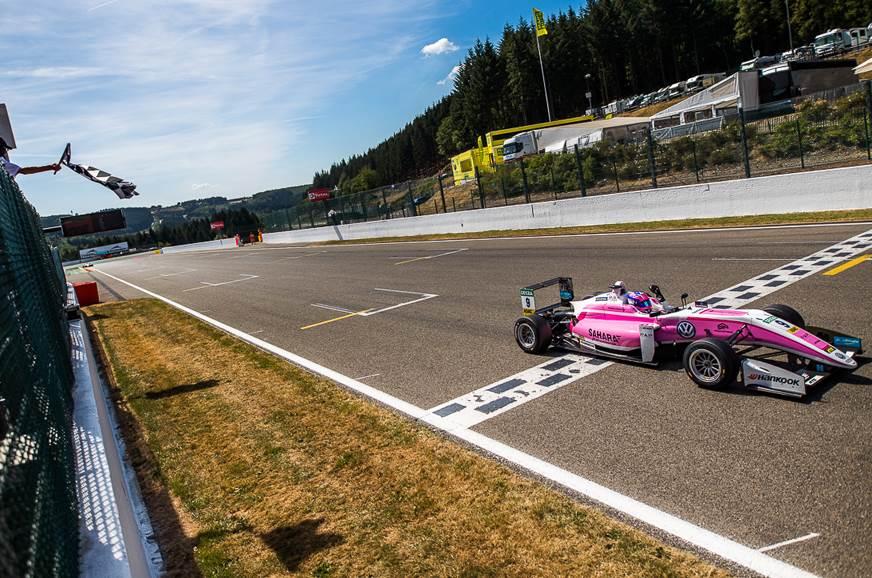 Spa F3: Jehan Daruvala wins Race 1 from pole