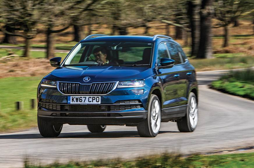 2018 skoda karoq review test drive autocar india. Black Bedroom Furniture Sets. Home Design Ideas