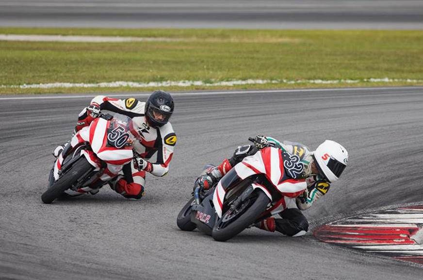 RACR riding and racing school at BIC on August 4-5