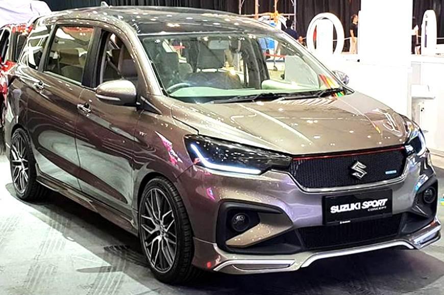 Suzuki Ertiga Sport Concept Leaked Ahead Of Unveil