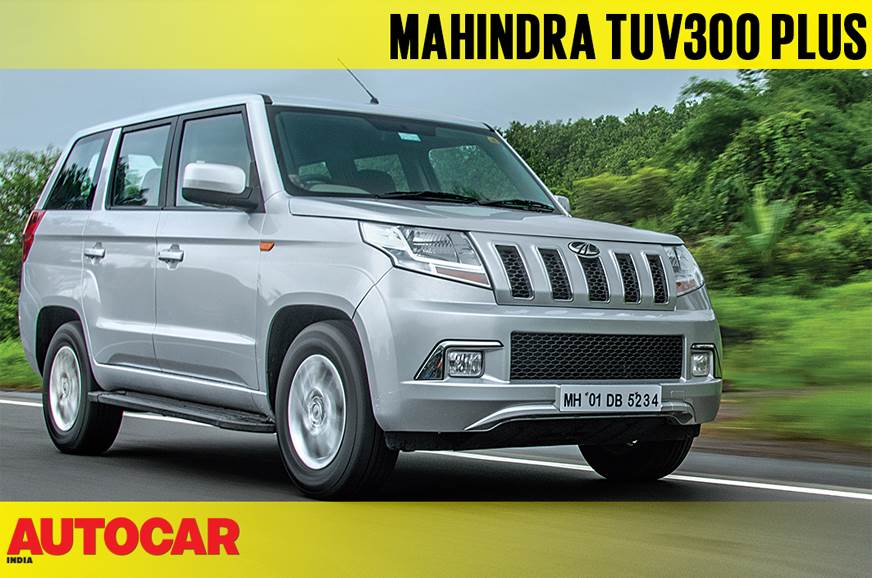 2018 Mahindra TUV300 Plus video review