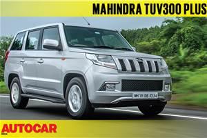 2018 Mahindra TUV300 Plus video review