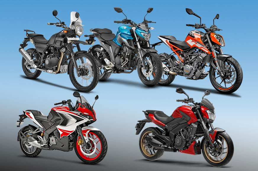 Top 5 bikes under Rs 2 lakh in India