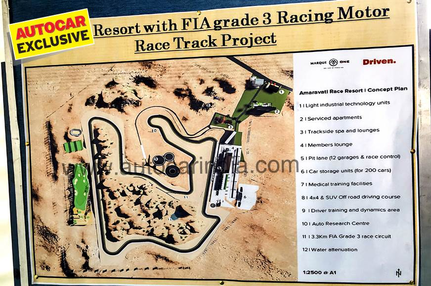Andhra Pradesh to get new race track