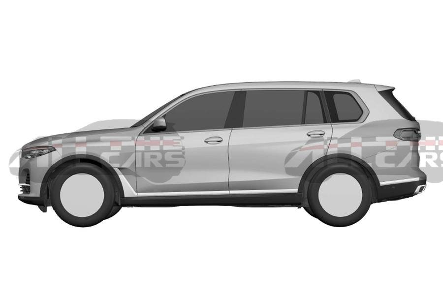 Bmw X7 Patent Images Revealed Autocar India