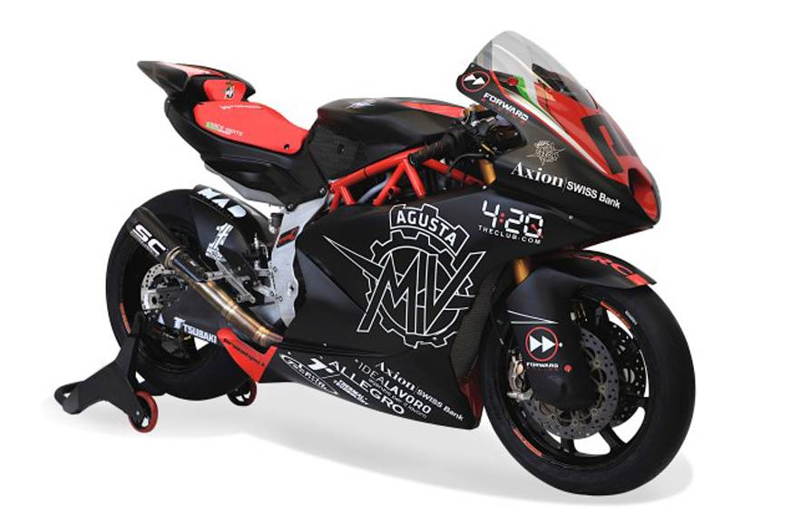 MV Agusta Moto2 race bike unveiled