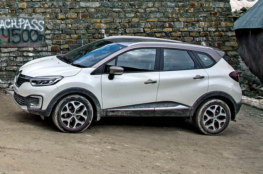 Discounts up to Rs 2 lakh can be availed on Renault's Captur.