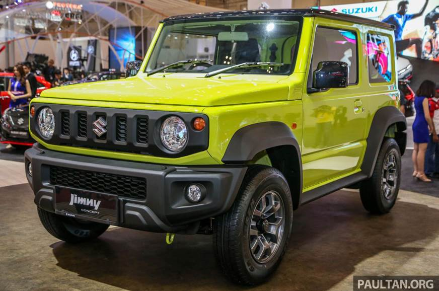 Maruti Suzuki Jimny Interior >> Suzuki Jimny to be built in Indonesia - Autocar India