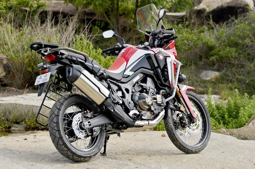 2018 honda africa twin dct review test ride autocar india. Black Bedroom Furniture Sets. Home Design Ideas