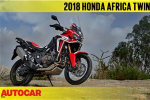 2018 Honda Africa Twin DCT video review