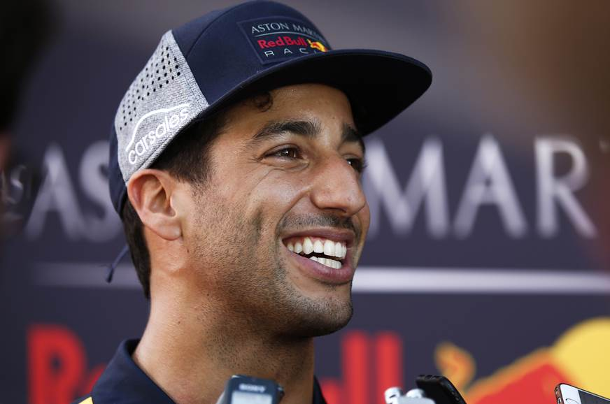 Red Bull confirms Ricciardo departure