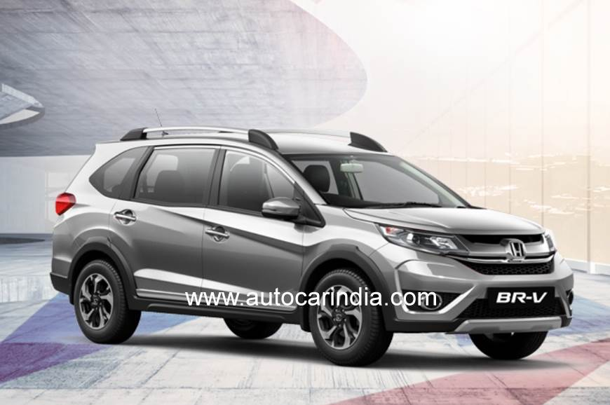 Honda Br V Style Edition Launched At Rs 10 44 Lakh