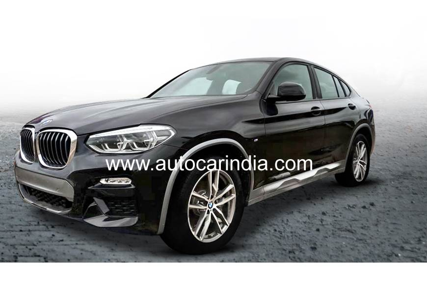 BMW X4 spied in India