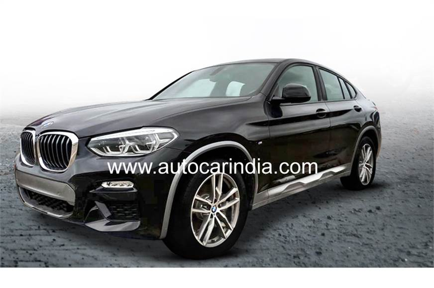 BMW X4 spied in India.