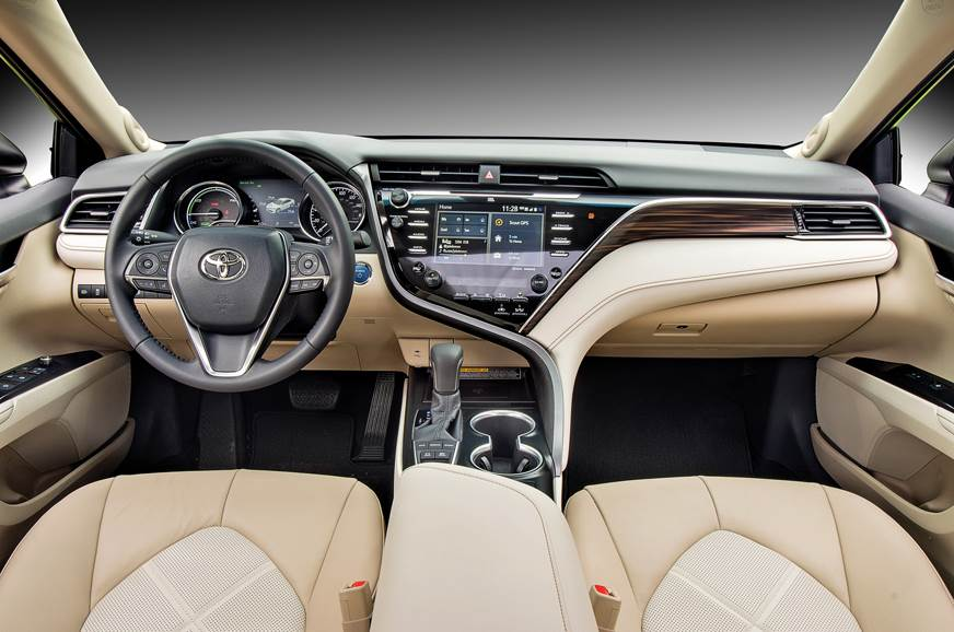 All-new interior gets a funky centre console design.