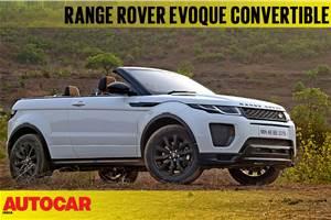 2018 Range Rover Evoque Convertible video review