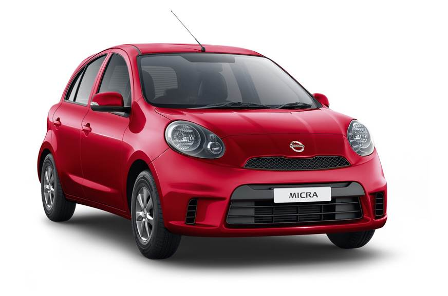 The Micra Active's design is based on the pre-facelift mo...