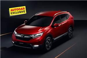 Honda CR-V India launch in October 2018