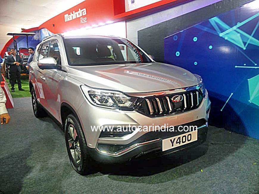 All-new Mahindra Rexton (XUV700) showcased in Mumbai