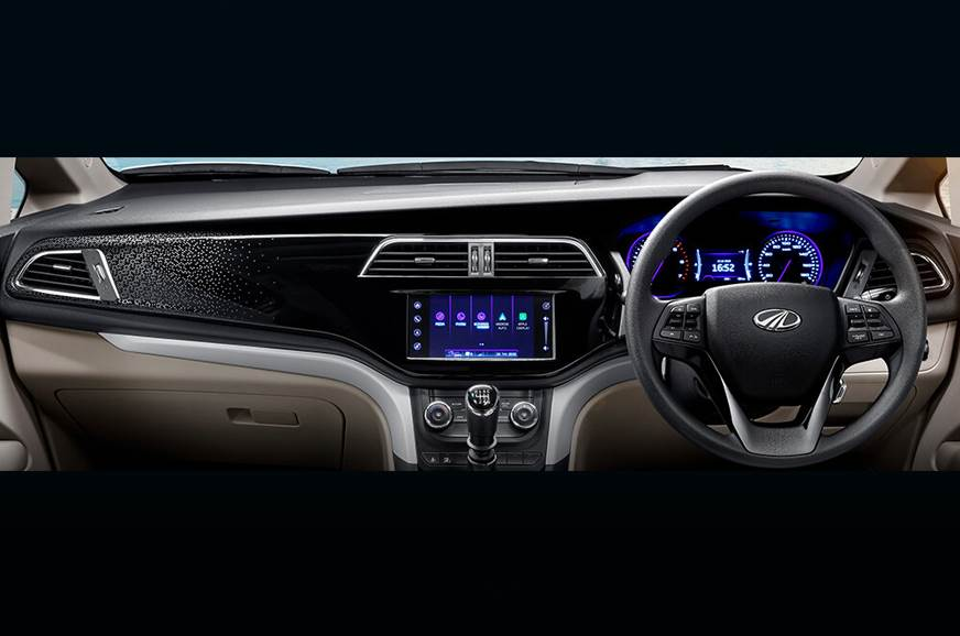 Mahindra Marazzo MPV dashboard revealed