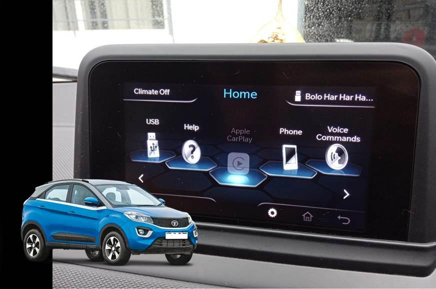 Tata Nexon now gets Apple CarPlay