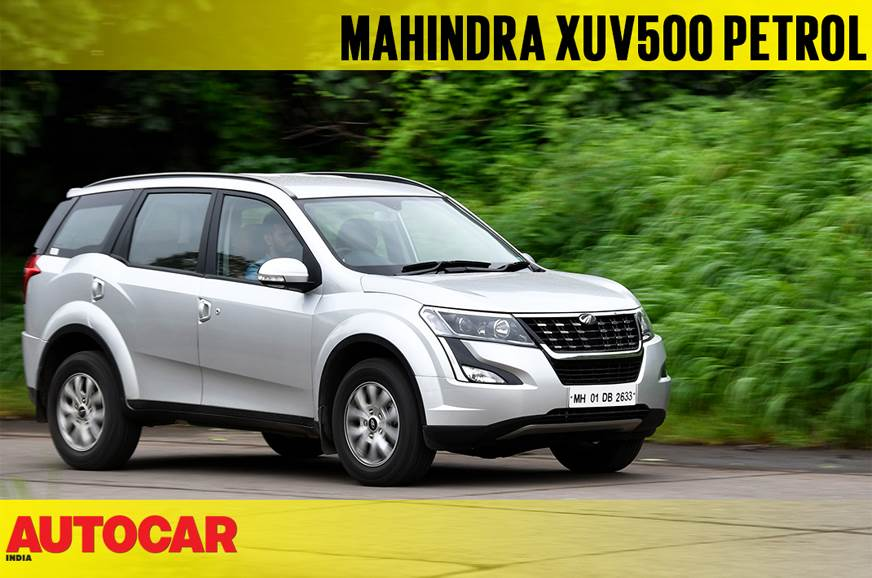 2018 Mahindra XUV500 petrol AT video review