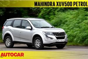 2018 Mahindra XUV500 petrol AT video review