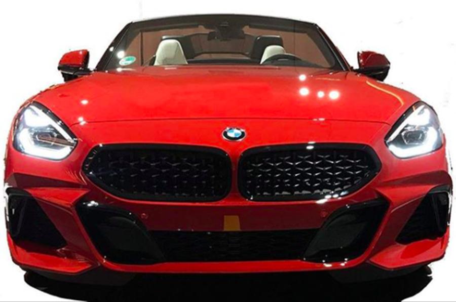 2019 Bmw Z4 M40i Images Leaked Autocar India
