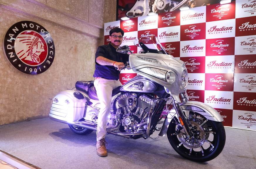 2018 Indian Chieftain Elite launched at Rs 38 lakh