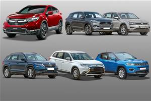 2018 Honda CR-V vs rivals: Specifications comparison