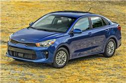 Kia Rio sedan: 5 things to know