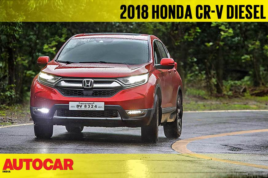 2018 Honda CR-V diesel AT video review